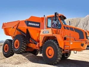 Doosan Moxy MT40B Articulated Dump Truck Service Repair Manual