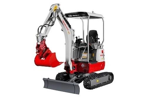 takeuchi tb215r mini excavator service repair manual