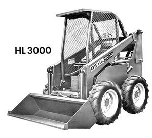 GEHL HL3000 Series Skid-Steer Loader Parts Manual