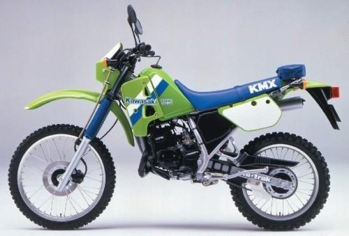 1988 KAWASAKI KMX125 MOTORCYCLE SERVICE REPAIR MANUAL