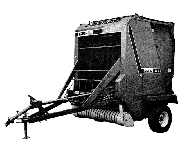 GEHL RB1860 Round Baler Parts Manual
