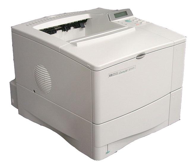 hp laserjet 4100 series printer service repair manual rh sellfy com Sam's Club HP LaserJet Printers HP 4100 Brochure