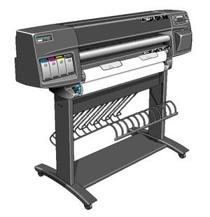 HP DesignJet 1050C, 1055CM Large-Format Printers Service Repair Manual