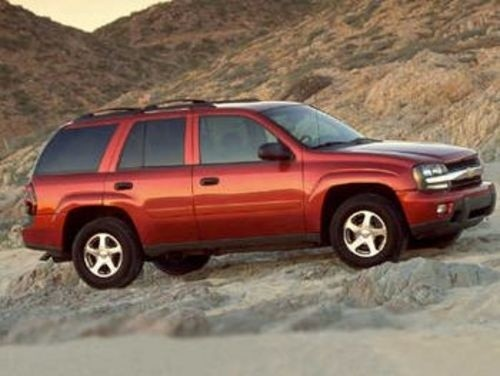 CHEVY CHEVROLET TRAILBLAZER SERVICE REPAIR MANUAL 2002-2008 DOWNLOAD