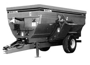 GEHL 7435/7500 Mixer Feeders Parts Manual
