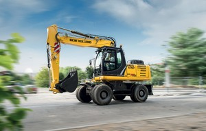 New Holland WE190,WE210 - WE210 Industrial,WE230 - WE230 Industrial Wheeled Excavator Service Manual
