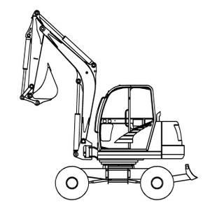 GEHL 652 Compact Excavator Parts Manual