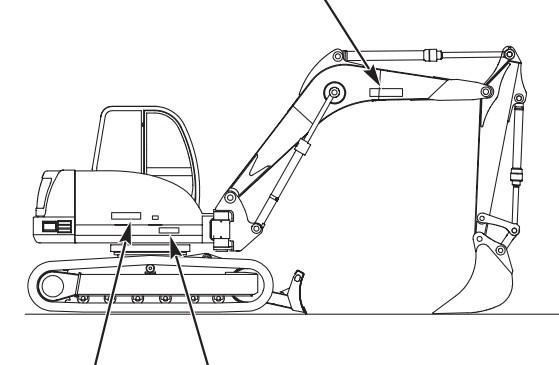 GEHL GE353, GE373 Compact Excavators Parts Manual