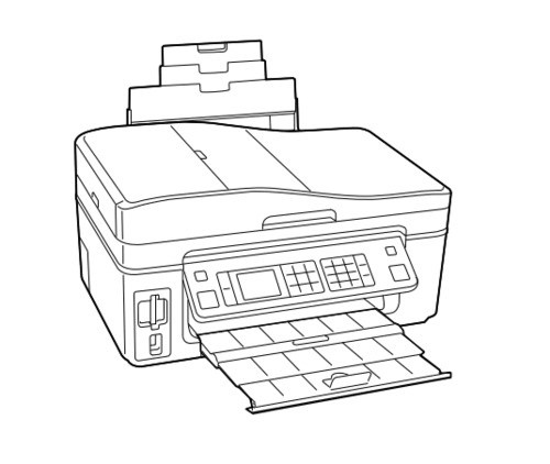 Epson WorkForce 600,Stylus OFFICE TX600FW/BX600FW,Stylus SX600FW Color Inkjet Printer Service Manual