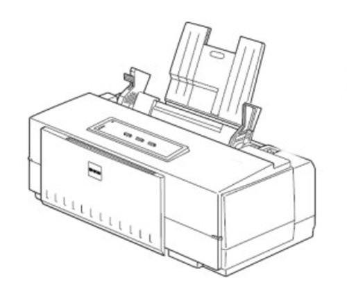 Epson Stylus Color 500 Color Inkjet printer Service Repair Manual