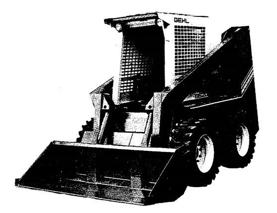 GEHL SL6620 Skid-Steer Loader Parts Manual
