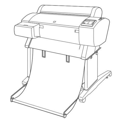 Epson Stylus Pro 7600/9600 Large Format Color Inkjet Printer Service Repair Manual
