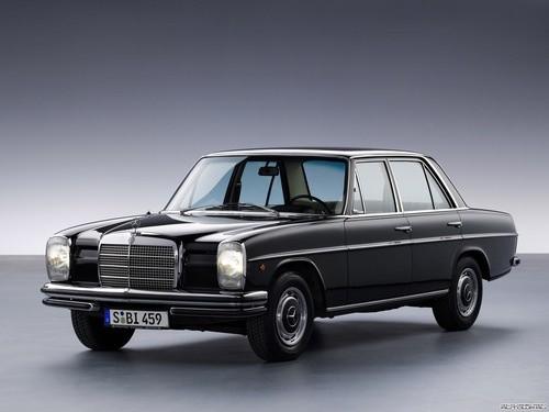 Mercedes-benz w114 / w115 car service repair manual 1968-1976.