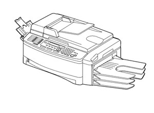 Panasonic KX-FLB853RU Flat-Bed Multi-Function Laser Fax with Sorter Service Repair Manual