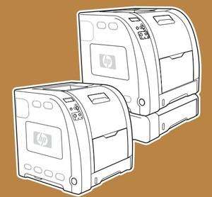 HP Color LaserJet 3500, 3550, 3700 series printers Service Repair Manual