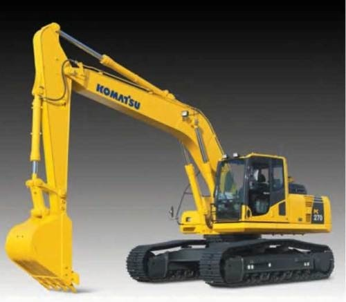 KOMATSU PC270LL-7L LOGGING EXCAVATOR SERVICE REPAIR MANUAL + OPERATION & MAINTENANCE MANUAL