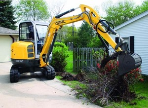 GEHL 383Z Compact Excavator Parts Manual