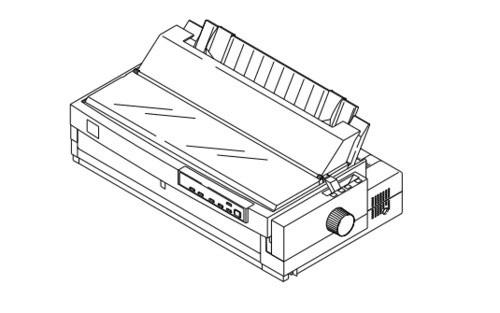 Epson LQ-2170 Terminal Printer Service Repair Manual