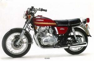 KAWASAKI KZ400, KZ400D, KZ400S MOTORCYCLE SERVICE REPAIR MANUAL 1974-1977 DOWNLOAD