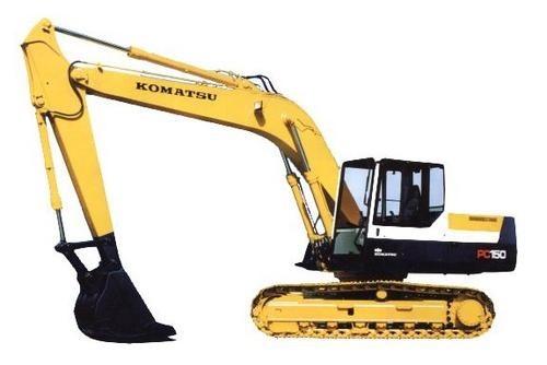 KOMATSU PC150-6K, PC150LC-6K HYDRAULIC EXCAVATOR SHOP MANUAL + OPERATION & MAINTENANCE MANUAL