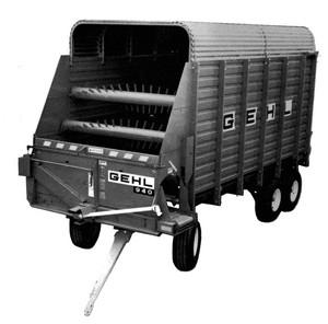 GEHL BU940 Forage Box Parts Manual