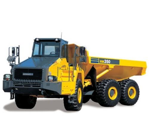 KOMATSU HM350-2 ARTICULATED DUMP TRUCK SERVICE REPAIR MANUAL + FIELD ASSEMBLY INSTRUCTION