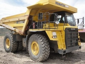 KOMATSU HD465-3 DUMP TRUCK SERVICE REPAIR MANUAL + OPERATION & MAINTENANCE MANUAL