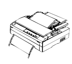 Epson FX-1180 / FX-880 9-Pin Impact Dot Printer Service Repair Manual