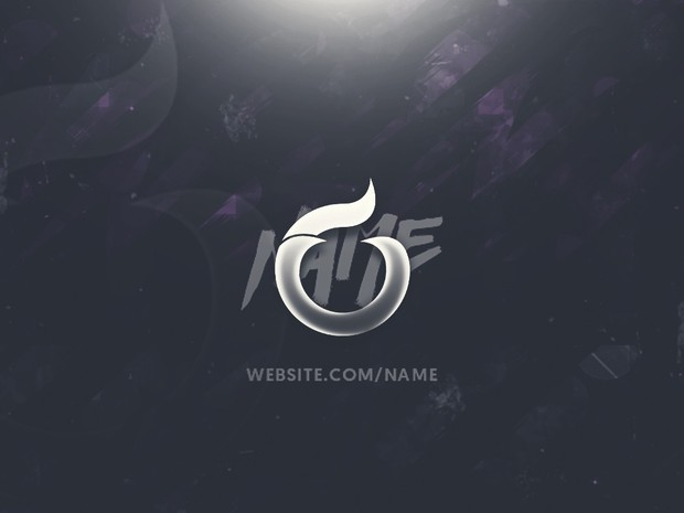 Abstract Template - Twitter Header Template