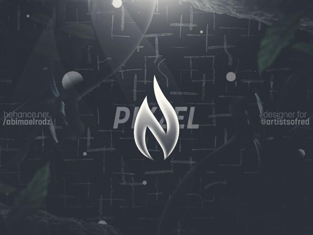 Red Pikzel Header PSD
