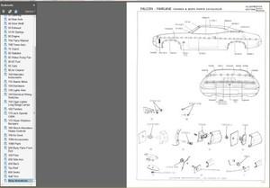 FORD FALCON 1972-1974 XA XB GT GS FAIRLANE ZF ZG  PARTS BOOK