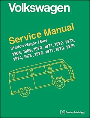 Volkswagen Station Wagon / Bus Service Repair Manual 1968-1979