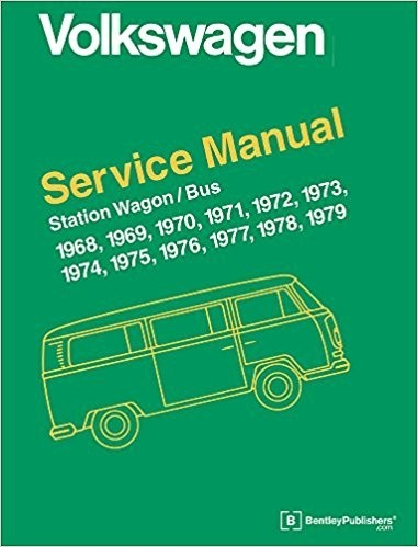Volkswagen Station Wagon / Bus Service Repair Manual 1968-1979