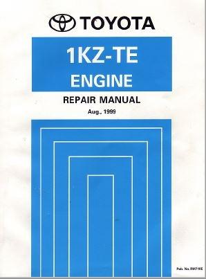 toyota 1kz te engine repair manual rm710e rh sellfy com 2007 Toyota Yaris Diagrams Car Repair Manuals