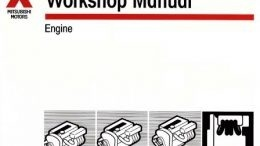 mitsubishi engine 4g9 series repair manual