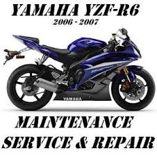 Yamaha YZF-R6 Service & Repair Manual YZFR6 2006 2007