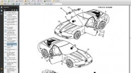 Chevrolet Corvette C5 5.7 L Parts Manual 1997-2002