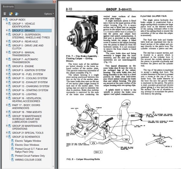 ford ba workshop manual user guide manual that easy to read u2022 rh sibere co ford au falcon service manual ford falcon workshop manual pdf