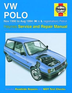 vw polo 90-94 Workshop Manual