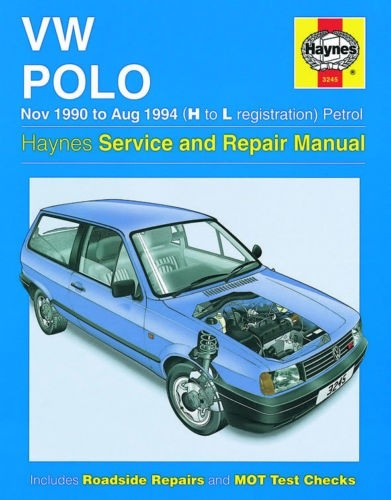 vw polo 90-94 Workshop Manual