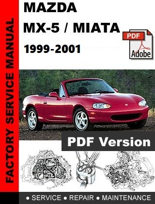Mazda Miata MX-5 NB 1999-2001 Workshop Repair Manual