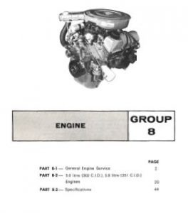 Ford 302 and 351 V8 Cleveland Engine Overhaul Repair Manual