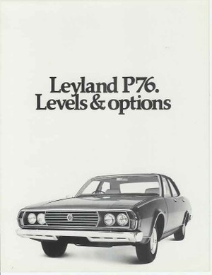 Leyland P76 1973-1975 Workshop Repair Manual