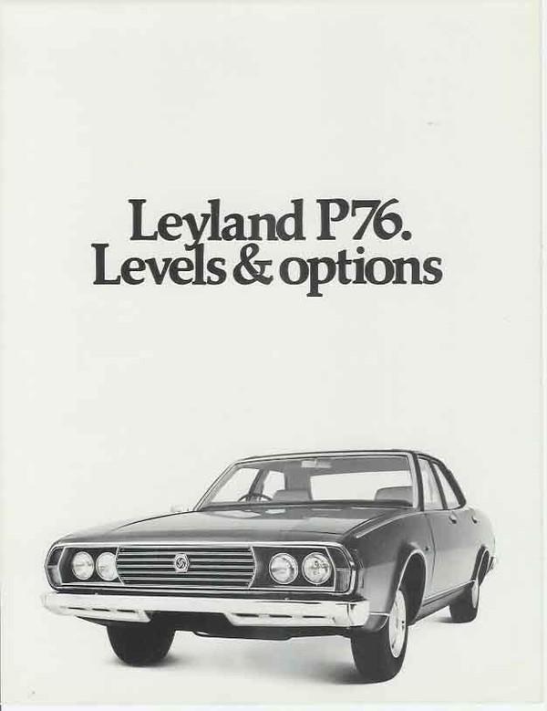 Leyland P76 1973-1975 Workshop Repair Manual