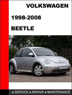 VOLKSWAGEN NEW BEETLE SERVICE & REPAIR MANUAL 1998 2008