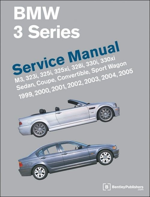 BMW 3 Series E36 Service Repair Manual 1992-1998