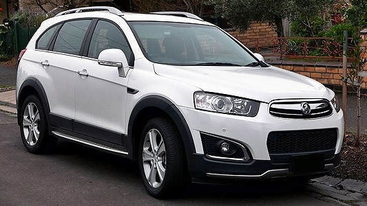 Holden Captiva CG Series Factory Workshop Manual