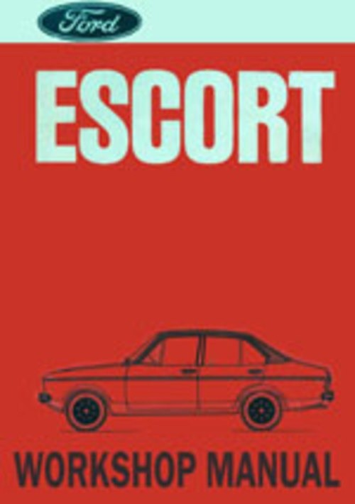 Ford Escort Mk II 1975 onwards Workshop Repair Manual