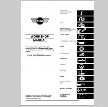 ROVER MINI - WORKSHOP, SERVICE, REPAIR MANUAL - WIRING - OWNERS