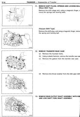 Toyota Land Cruiser LJ70 Service & Repair Manual